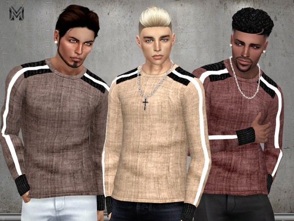 The Sims Resource: Male Linen Shirt by MartyP