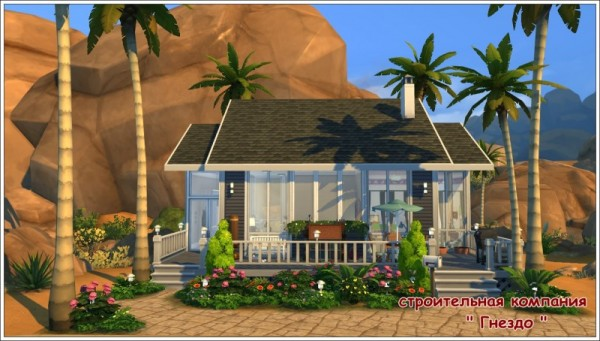 Sims 3 by Mulena: The house of Amina