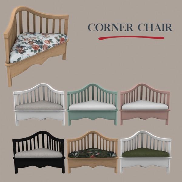 Leo 4 Sims: Corner chair