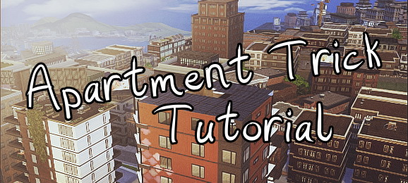 Ideassims4 art: Tutorial  Apartment trick