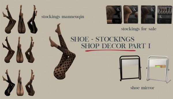 Leo 4 Sims: Shop decor