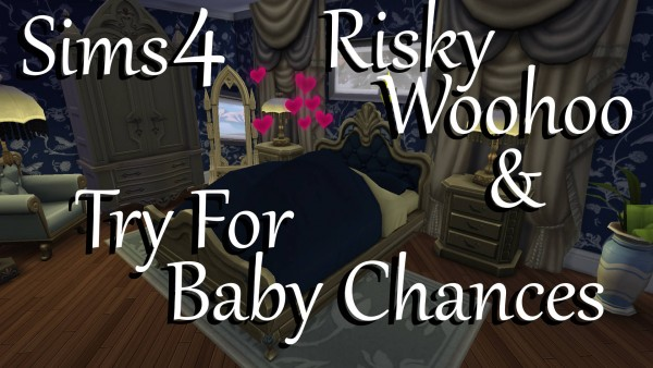 Mod The Sims: Risky Woohoo & Try For Baby Chances by PolarBearSims