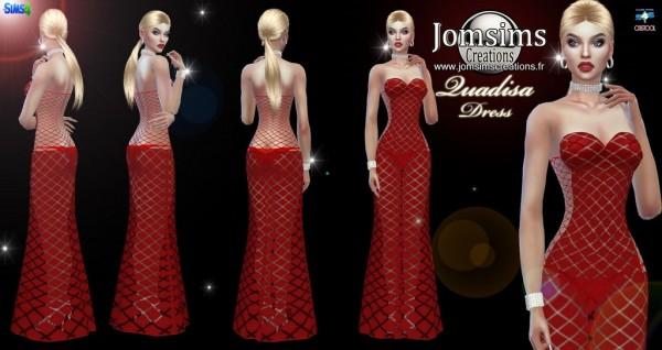 Jom Sims Creations: Quadisa dress