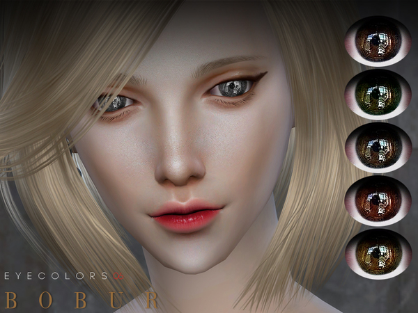 The Sims Resource: Eyecolors 06 by Bobur3
