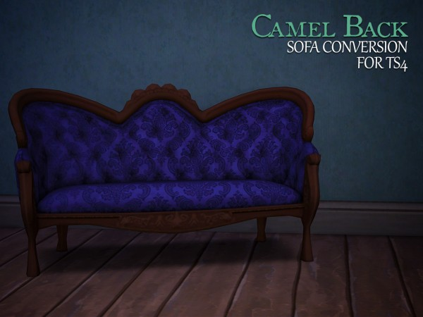 The Path Of Nevermore: Camel back sofa