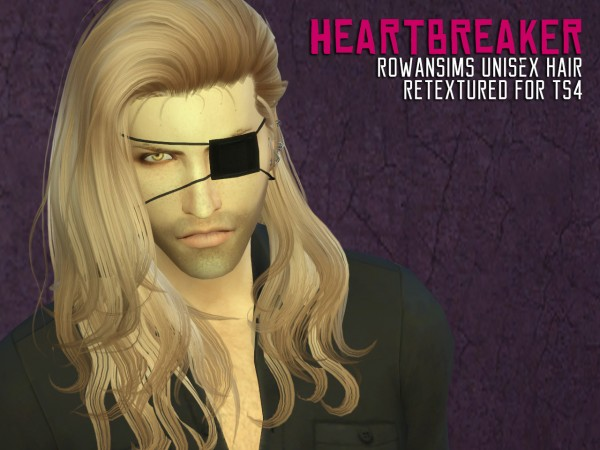 The Path Of Nevermore: RowansimsHeartbreaker hair retextured and pants