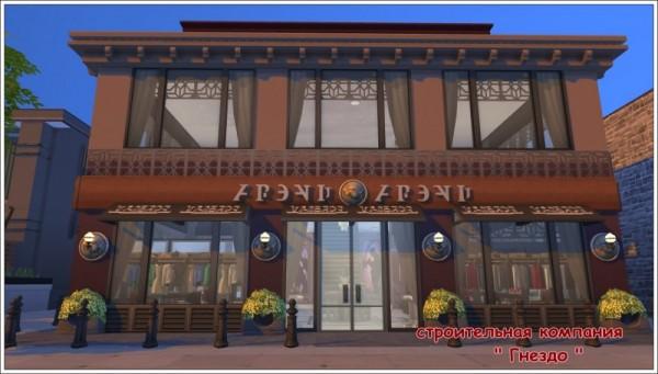 Sims 3 by Mulena: Clothing store Joseph