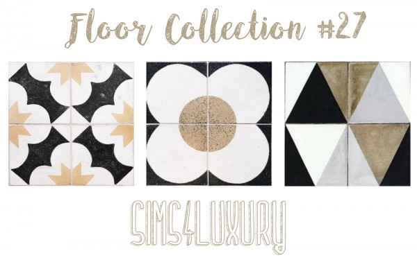 Sims4Luxury: Floor Collection 27