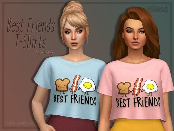 Trillyke: Best friends t shirts