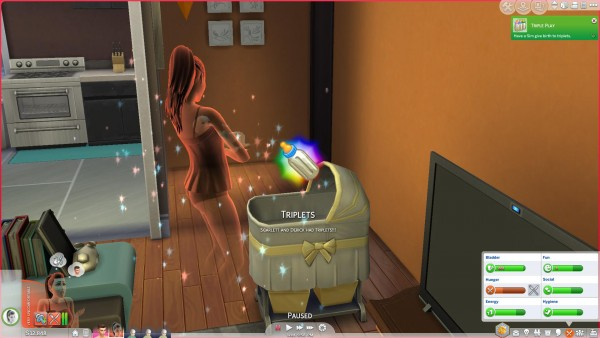 Mod The Sims: Ghosts Can Have Babies by PolarBearSims