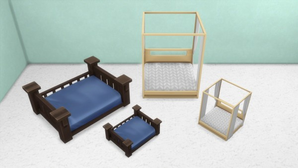 Enure Sims: Cobra Cabana Bed and Classic Bed for Pets
