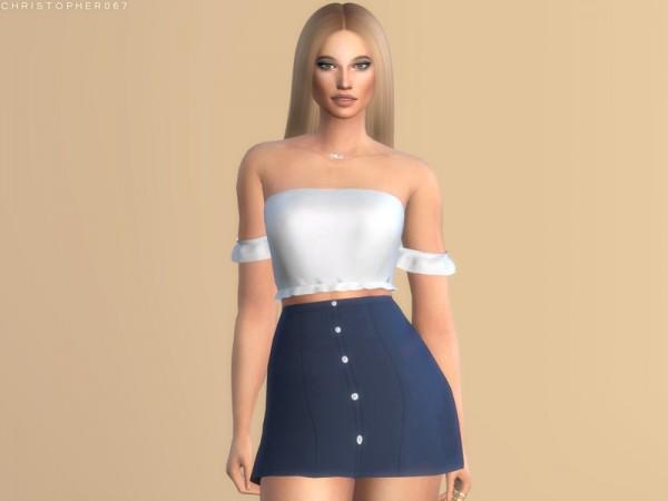 The Sims Resource: Cassanova Skirt by Christopher067