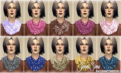 Jenni Sims: Accessory Scarves