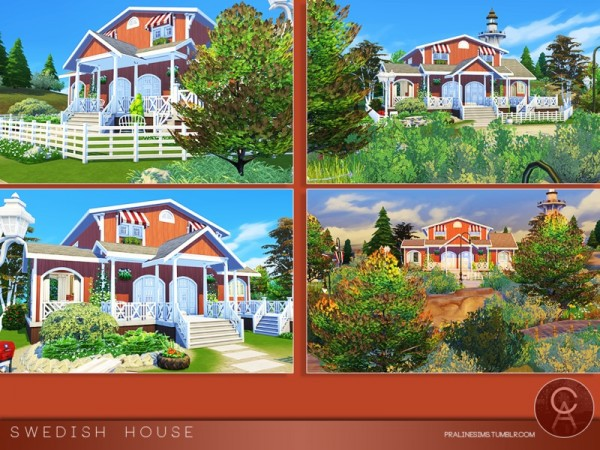 The Sims Resource: Swedish House by Pralinesims