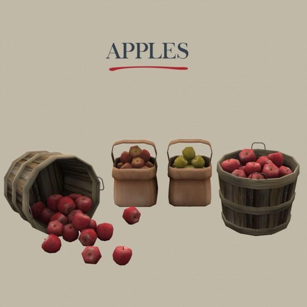 Leo 4 Sims: Apples