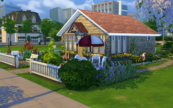 Sims Artists: Brindille house