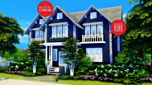 Simsational designs: Cats and Dogs Siding