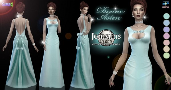 Jom Sims Creations: Divine Asten dress