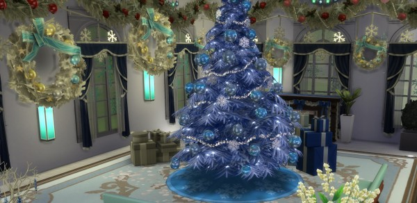 Mod The Sims: Holiday Tree 12 Recolours by wendy35pearly