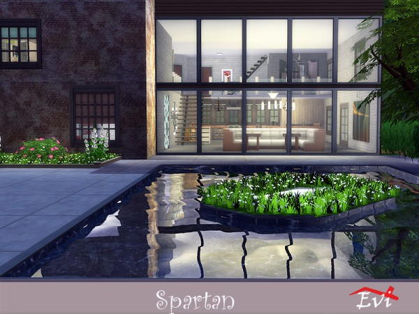 The Sims Resource: Spartan house by evi