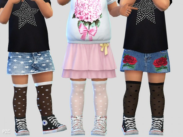 The Sims Resource: Toddler Socks 02 by Pinkzombiecupcakes