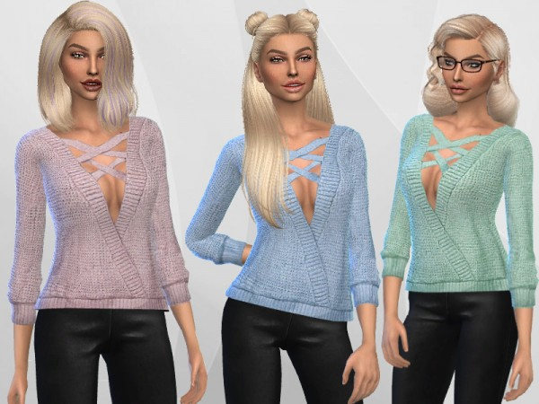 The Sims Resource: Wool Sweater by Puresim