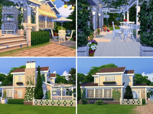 The Sims Resource: Dreamy Life house by MychQQQ