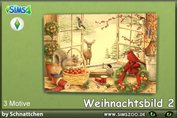 Blackys Sims 4 Zoo: Christmas picture by Schnattchen