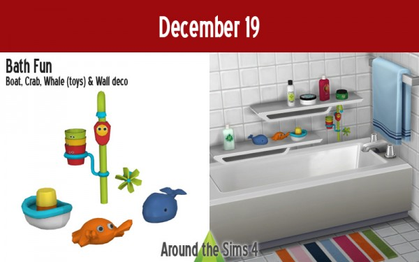 Around The Sims 4: Bath fun