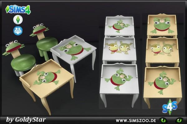 Blackys Sims 4 Zoo: Frog Set 2 by GoldyStar