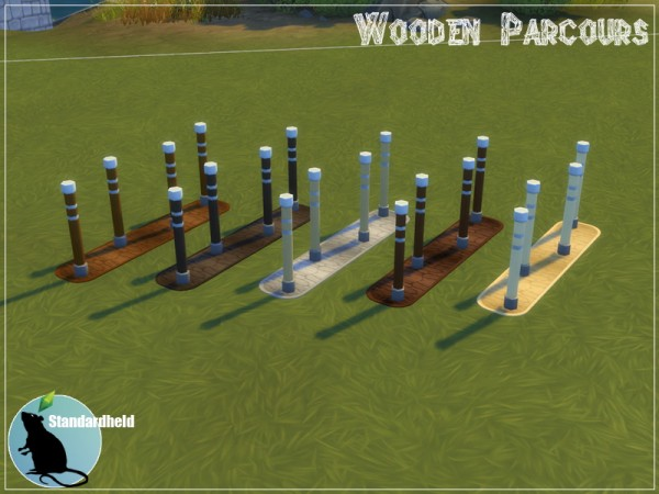 Simsworkshop: Wooden Parcours 2.0 by Standardheld