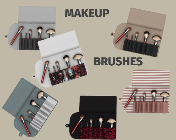 Leo 4 Sims: Makeup Brushes