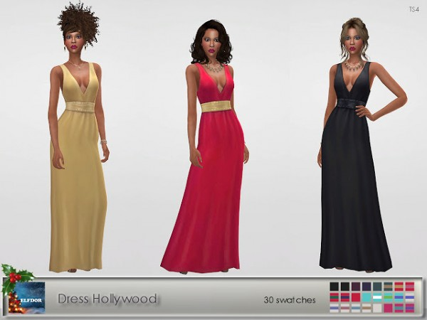 Elfdor: Dress Hollywood recolored