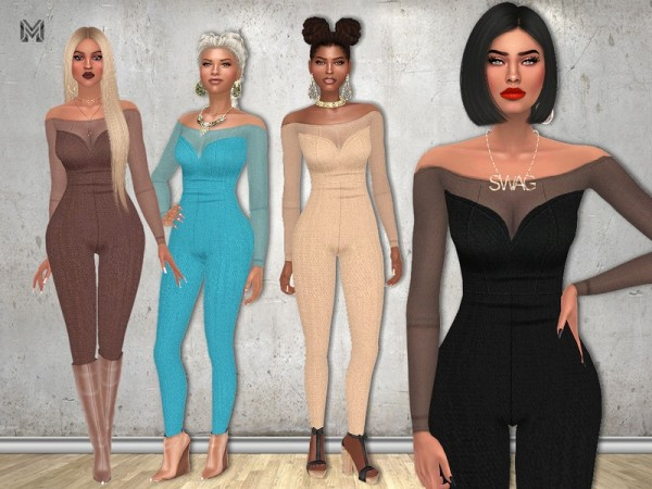 The Sims Resource: Zeta Outfit by MartyP