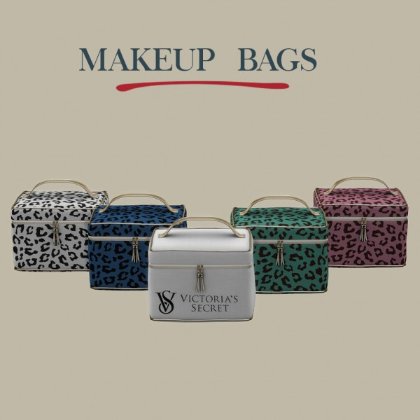 Leo 4 Sims Makeup Bags Sims 4 Downloads