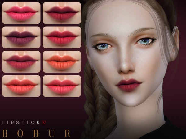 The Sims Resource: Lipstick 37 by Bobur