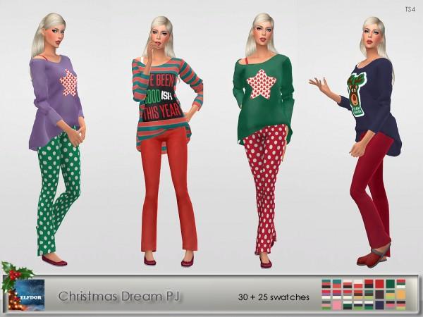 Elfdor: Xmas dream pajamas