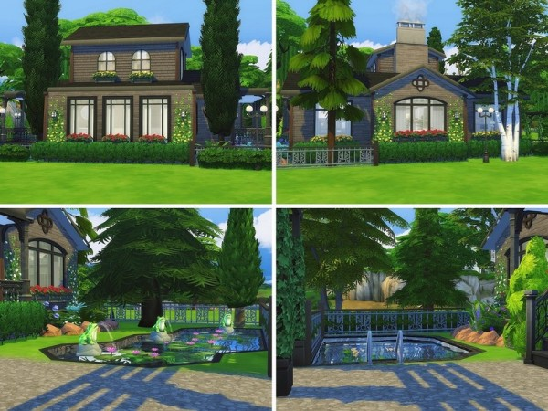 The Sims Resource: Suburban Dream house by MychQQQ