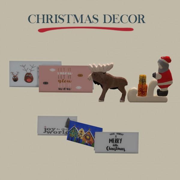 Leo 4 Sims: Christmas Decor