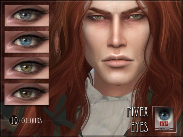 The Sims Resource: pIVEX eyes by RemusSirion