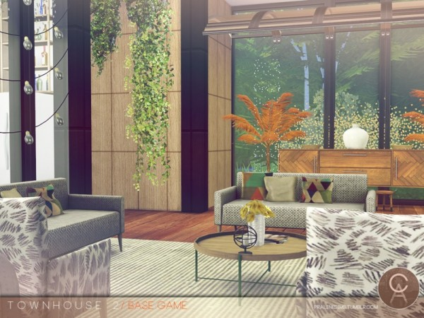 The Sims Resource: Townhouse 2 by Pralinesims