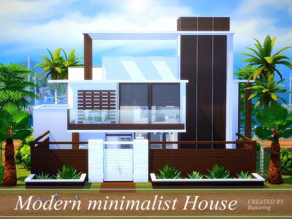 The Sims Resource Modern Minimalist House No Cc By
