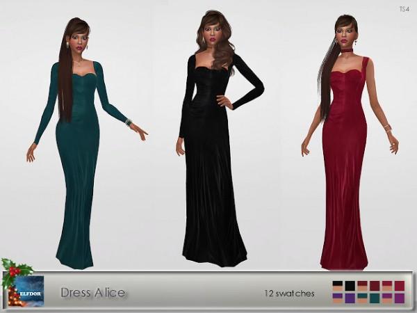Elfdor: Dress Alice recolored