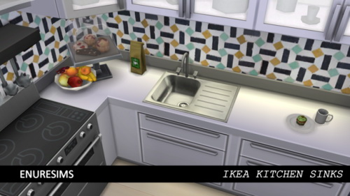 Enure Sims: Kitchen Sinks