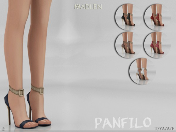 The Sims Resource: Madlen Pantfilo Shoes by MJ95