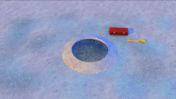Mod the sims let 39 s go ice fishing by snowhaze sims 4 for Go ice fish