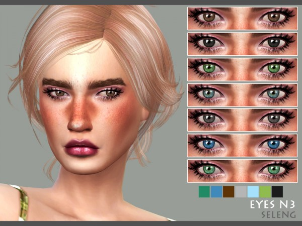 The Sims Resource: Eyes N3 by Seleng