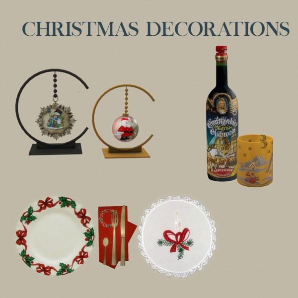 Leo 4 Sims: Christmas Decorations