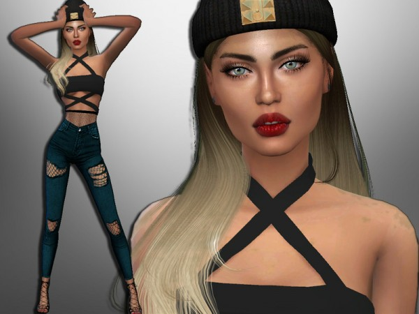 The Sims Resource: Skylar Salazar by divaka45