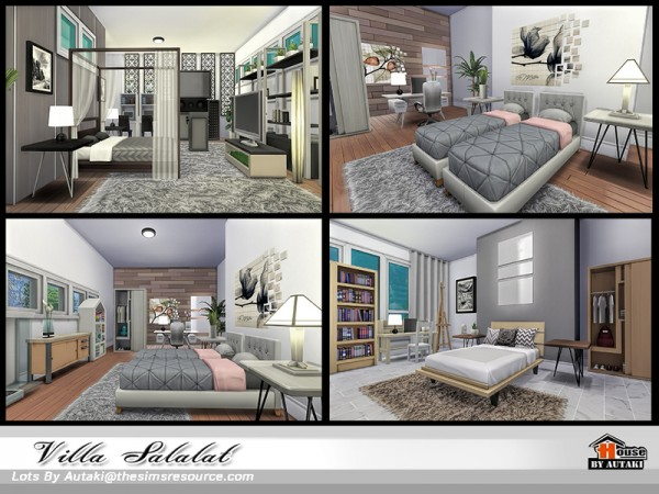 The Sims Resource: Villa Salalat by Autaki